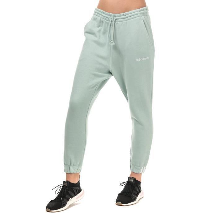 Adidas Leggings Femmes Pantalon Bas ventilé en Coton Coupe Standard