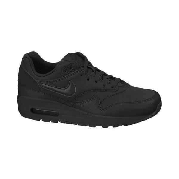 quite nice best website best prices Basket Nike Air Max 1 Full Black Noir Noir - Achat / Vente basket ...