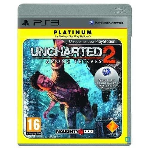 JEU PS3 Uncharted 2 : among thieves - platinum [PlayStatio