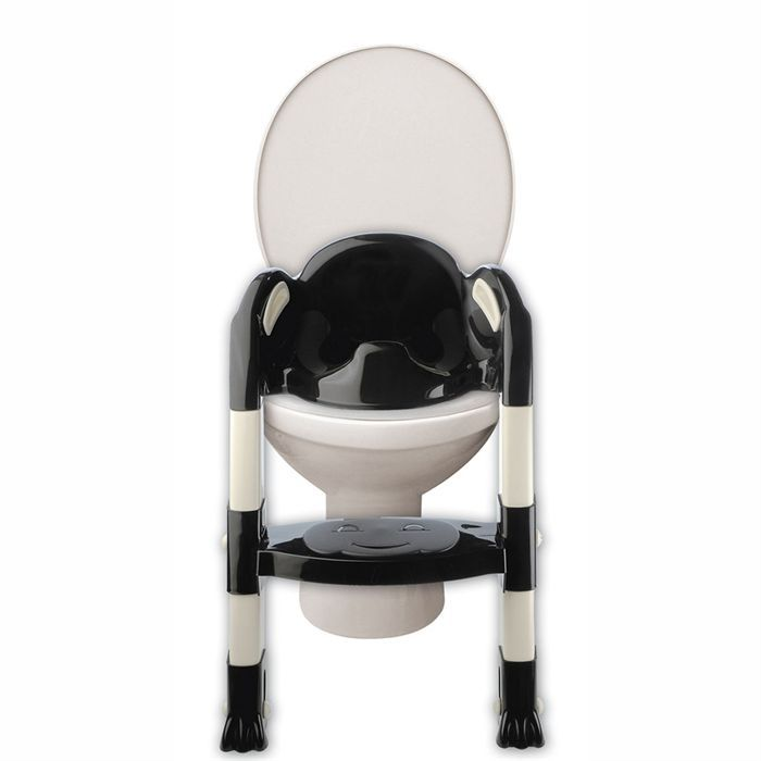 thermobaby r ducteur de toilettes kiddyloo noir noir et. Black Bedroom Furniture Sets. Home Design Ideas