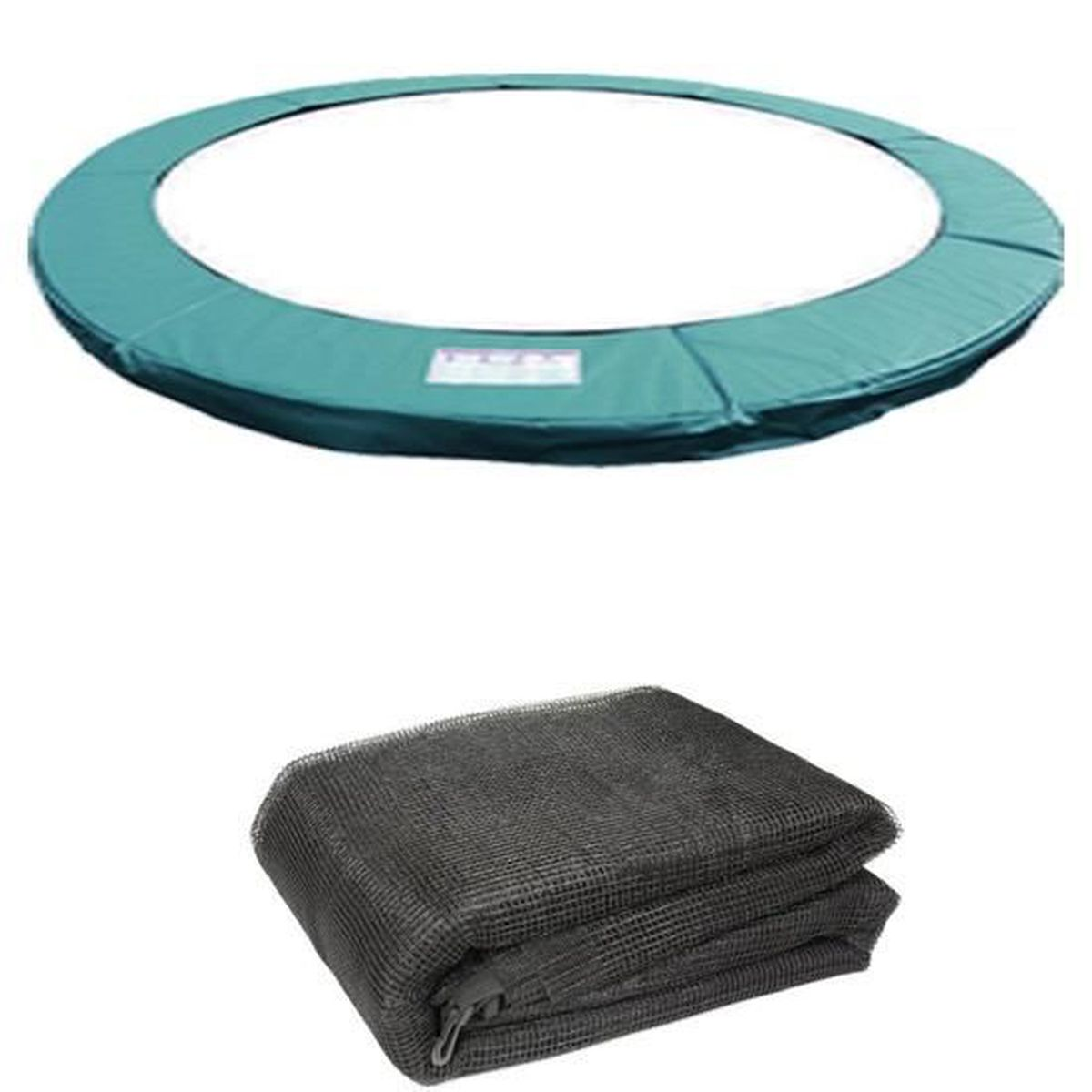 Filet de s/écurit/é de Rechange Greenbay Coussin De Protection de Ressorts pour Trampoline 6 8 10 12 13 14 FT Vert Couverture Rembourrage
