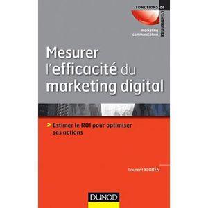 LIVRE MARKETING Mesurer l'efficacité du marketing digital