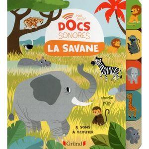 DOCUMENTAIRE ENFANT La savane. 5 sons à écouter