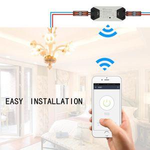 APPAREIL MULTIFONCTION Interrupteur de lumière Wi-Fi Interrupteur Télécom