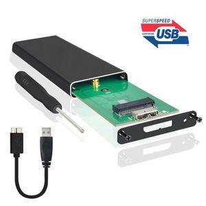 HOUSSE DISQUE DUR EXT. Boîtier SSD Portable M.2 NGFF USB 3.0 boîtier SATA
