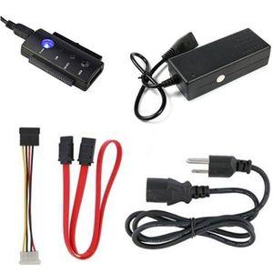 ADAPTATEUR AUDIO-VIDÉO  USB 2.0 vers IDE SATA SATA 2,5 3,5 Disque dur HD A