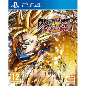 JEU PS4 Dragon Ball FighterZ Jeu PS4 + 1 Porte Clé + 2 led