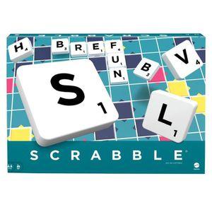 JEU SOCIÉTÉ - PLATEAU SCRABBLE - Scrabble Classique - Jeu de Société