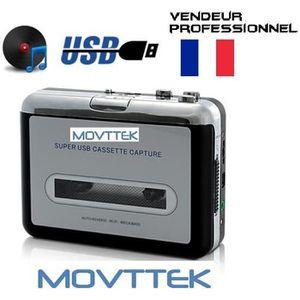 BALADEUR CD - CASSETTE Lecteur cassette K7 - convertisseur lecteur MP3