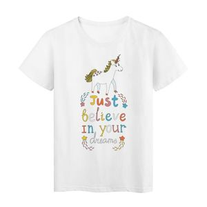 T-SHIRT T-Shirt DREAM LICORNE ref 1004 - Taille:S