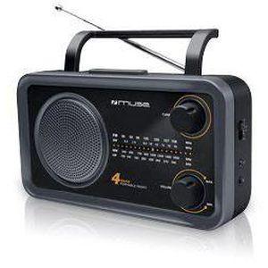 RADIO CD CASSETTE MUSE - RADIO PORTABLE 4 GAMMES M-05DS