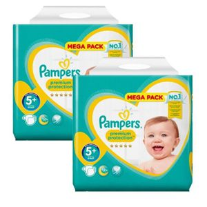 COUCHE Maxi Pack 270 Couches Pampers New Baby - Premium P
