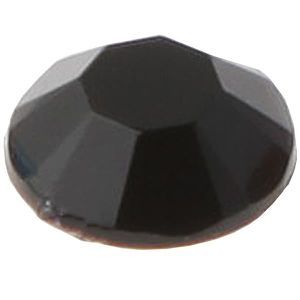 SEQUIN - STRASS Strass diamant autocollant: Noir (x160) REF/3885