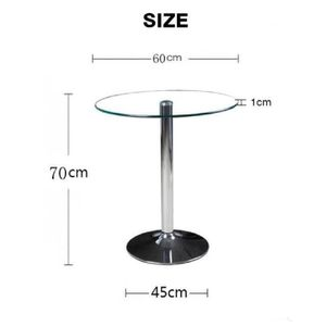 table extensible transparente achat vente table. Black Bedroom Furniture Sets. Home Design Ideas