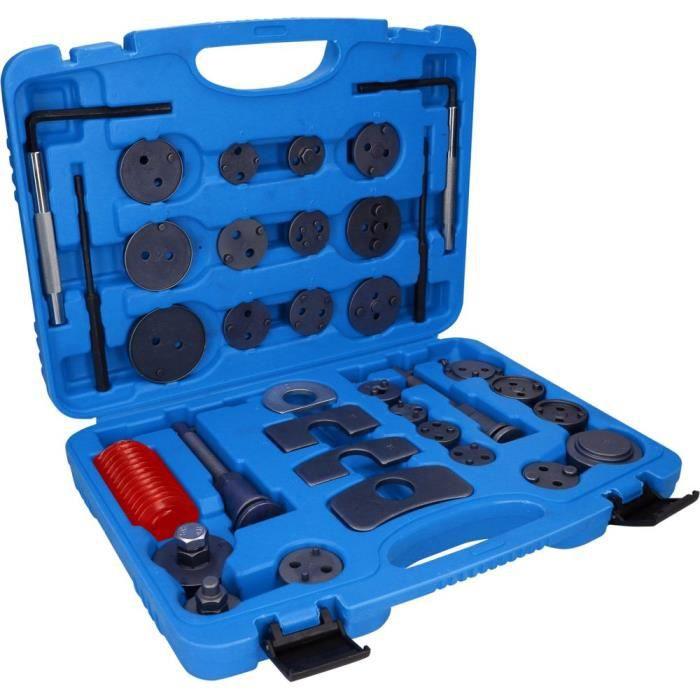 Jeu d'outils de réglage BRILLIANT TOOLS pour pistons de frein universel - 35pcs - BT701050