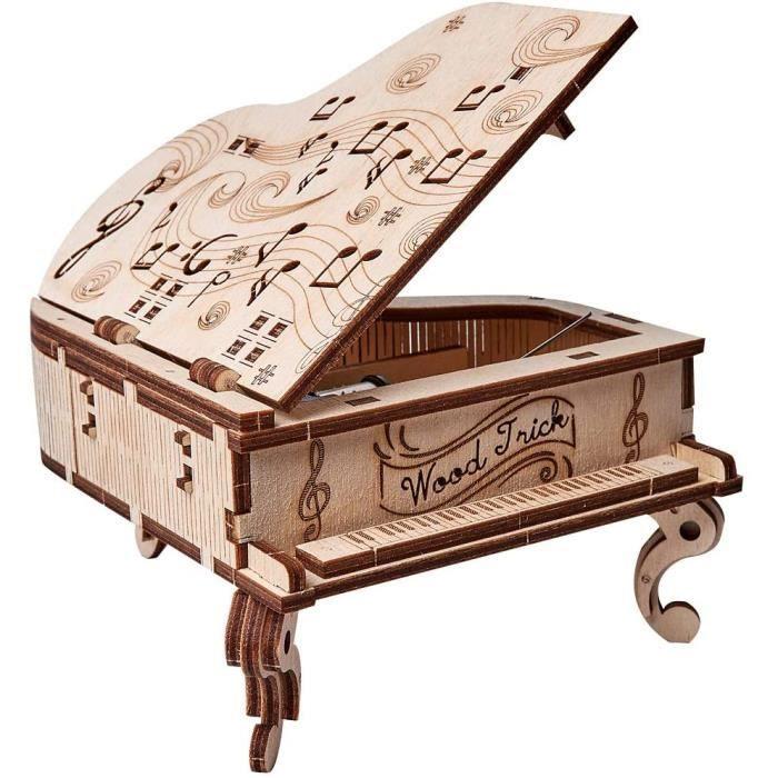 Wood Trick - Grand piano - Puzzle 3d en bois