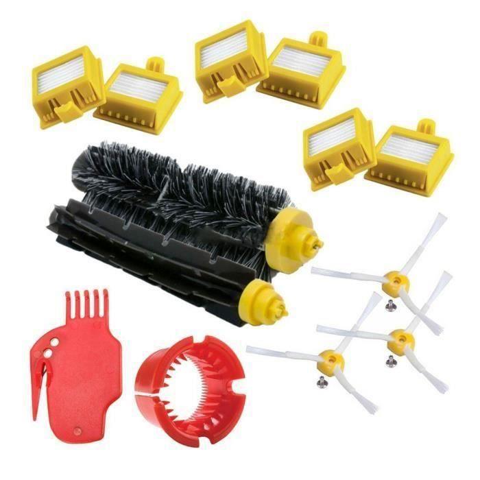 pour IRobot Roomba Series 700 Kit de remplacement 760 770 772 774 775 776 780 782 785 786 790 - Accessoires, filtres et brosses