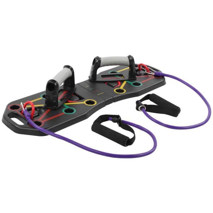 VGEBY Conseil Push Up Planche d'entraînement portable pour tout le corps avec poignée Push Up