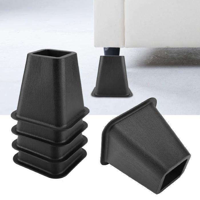 En Stock-4pcs Pied de meubles Riser de fourniture Réhausseur de meuble Lit / Table / Bureau / Canapé/Chaise -LesSaisons