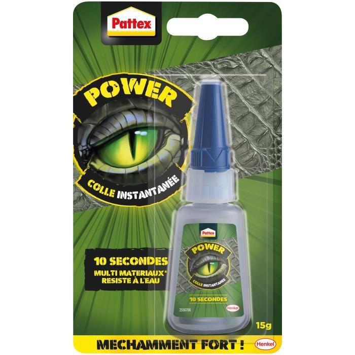 PATTEX Colle instantanée Power - 15 g