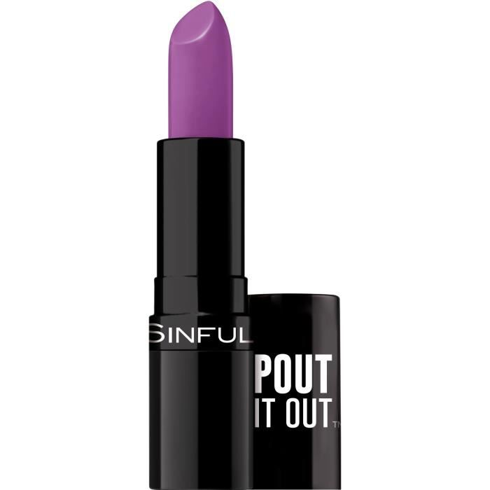 SINFUL Rouge à lèvres Stick Pout It Out n°008 Tasted - 4,2 g