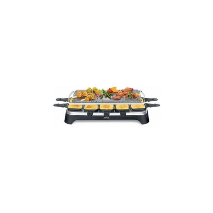 Raclette Tefal PIERRADE INOX&DESIGN PR457812 • Raclette & Fondue • Cuisson conviviale
