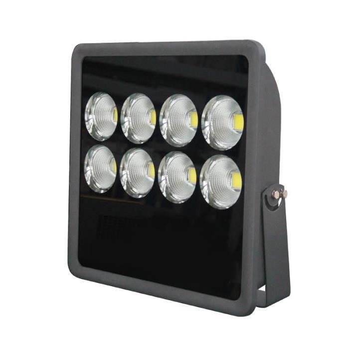 Vision-EL - Projecteur extérieur LED - 400 Watt 4000°K GRIS IP65