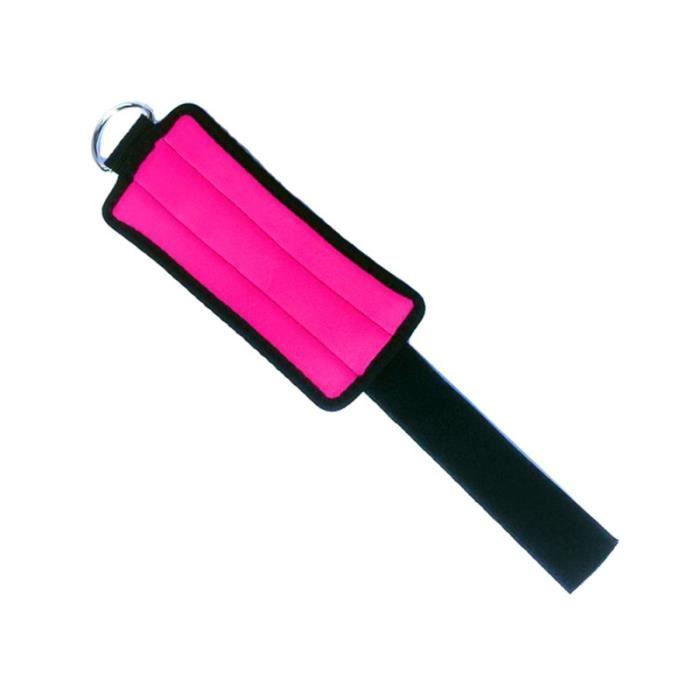 2pcs Poids cheville / poignet (rose rouge) BARRE - HALTERE - POIDS