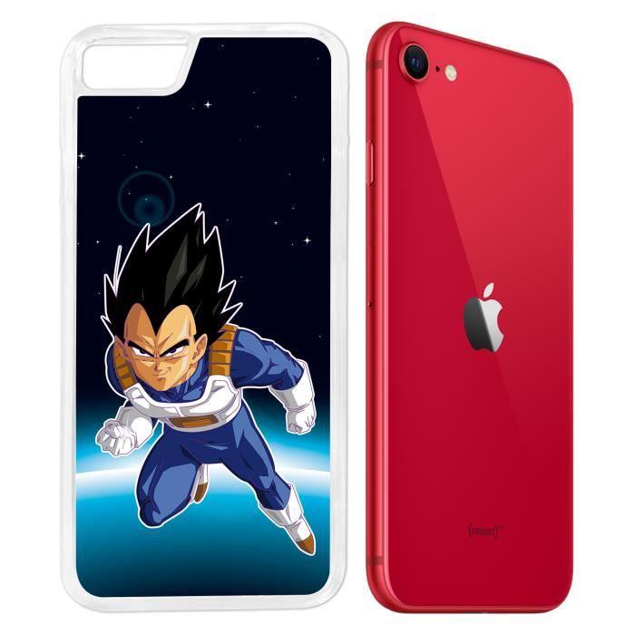 Coque iPhone SE 2020 - Dragon Ball Vegeta Espace.