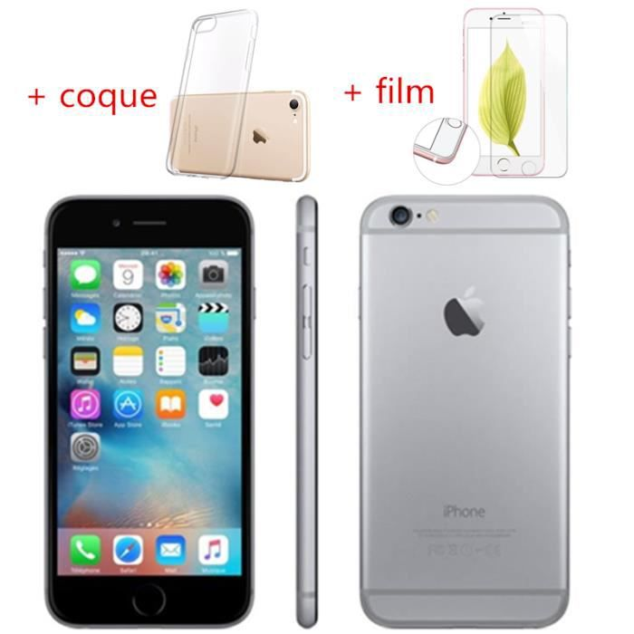 SMARTPHONE RECOND. Iphone 6plus 16Go Gris remise à neuf grade A+++ sa