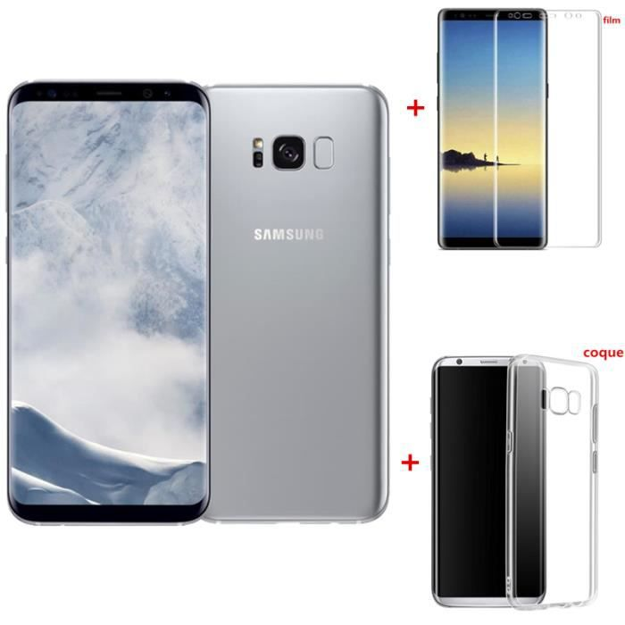SMARTPHONE RECOND. Samsung Galaxy S8+ 64GO Argent version Européen re