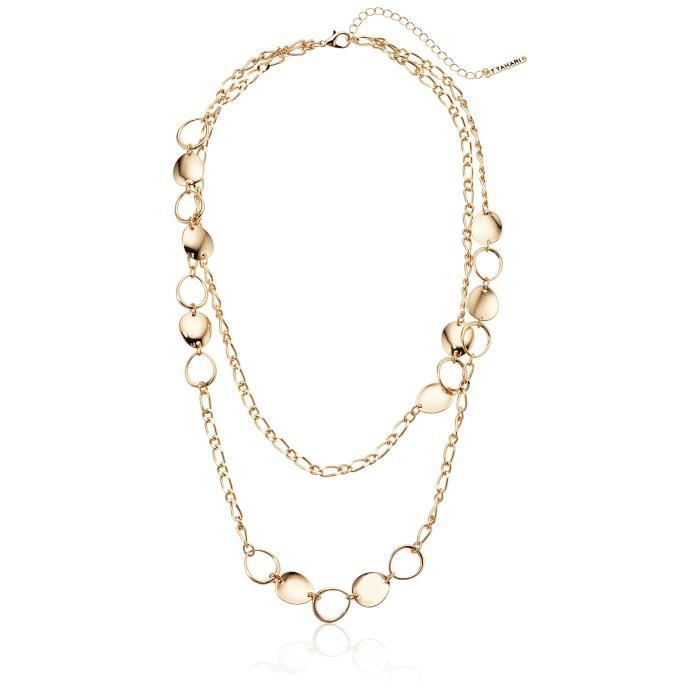 T Tahari Circles Chain Necklace RPADS