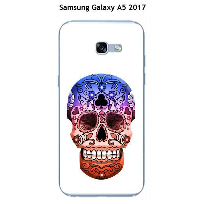 coque samsung galaxy a5 2017 tete de mort