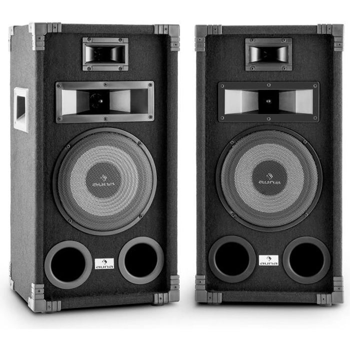 auna pa 800 paire d 39 enceintes sono full range subwoofer 8 enceinte et retour avis et prix. Black Bedroom Furniture Sets. Home Design Ideas