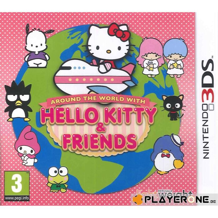 JEU 3DS Hello Kitty Around the World with H.K. and Friends