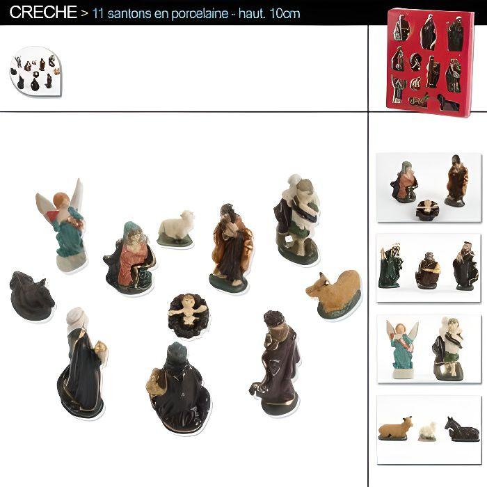 Lot de maisons 15/x 10/x 11,5/cm pour cr/èche