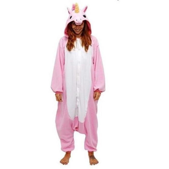 PYJAMA Pyjamas Animaux Adultes Unisex Cosplay Costume Com