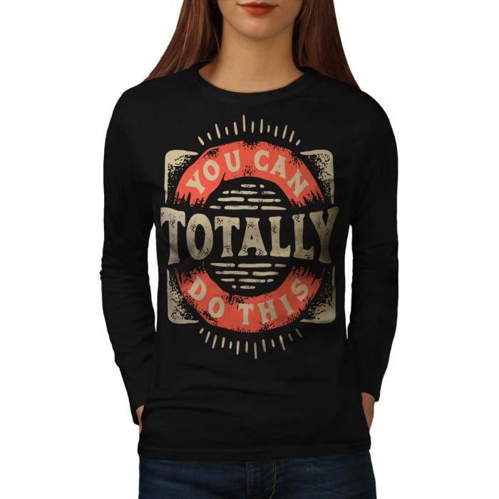 T-SHIRT Toi Pouvez Faire Ce Women  T-shirt à manches longu