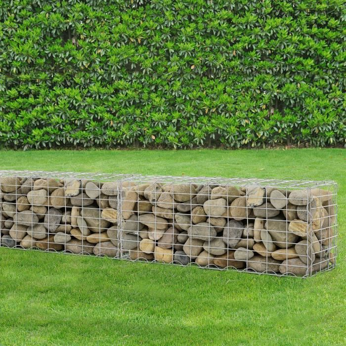 gabions mur en pierre achat vente gabions mur en. Black Bedroom Furniture Sets. Home Design Ideas