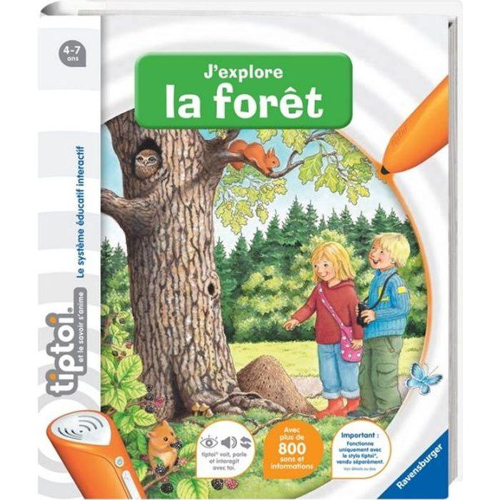 LIVRE INTERACTIF ENFANT TIPTOI Livre Interactif J'explore la Forêt