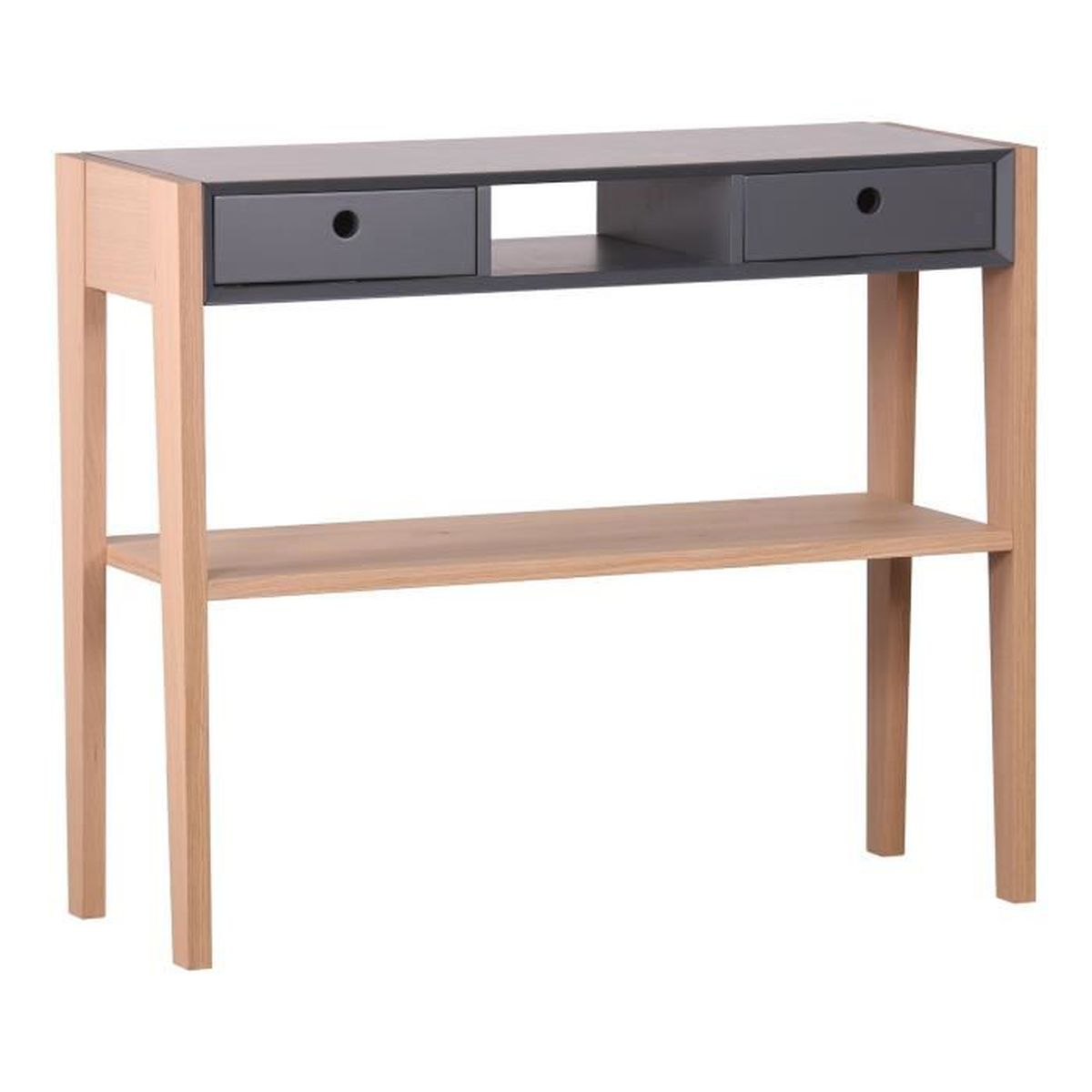 console avec tiroirs maison design. Black Bedroom Furniture Sets. Home Design Ideas