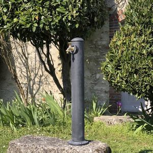 42 cm haute tressée Vasque à oiseaux Fonte Fontaine Bain d/'eau Oiseau Bassin Nourriture Bol