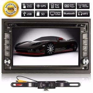 AUTORADIO TEMPSA 6.2'' Bluetooth GPS HD 2 DIN Autoradio Stér