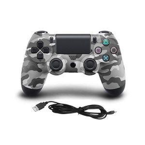 MANETTE JEUX VIDÉO Manette de jeu pour manette filaire PS4 - Gris cam