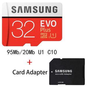 CARTE MÉMOIRE Carte mémoire Micro SD 32 GB Samsung Class 10 + Ad