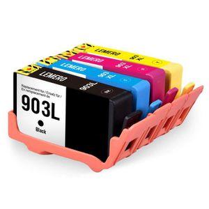 CARTOUCHE IMPRIMANTE Compatible HP 903L 903XL Cartouche d'imprimante 4