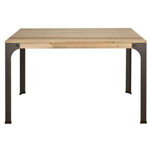 TABLE À MANGER SEULE Table bureau ordinateur style industriel vintage b