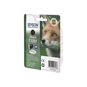 CARTOUCHE IMPRIMANTE EPSON Pack de 1 cartouche d'encre  - T1281 - noir