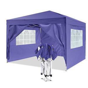 TONNELLE - BARNUM Tente de réception pliante 3 x3m auvent pour Campi