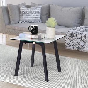 BOUT DE CANAPÉ Table d'appoint Bout de canapé design industriel e